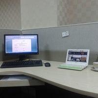 Photo taken at Bank Mandiri by Nanda B. on 5/30/2014