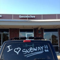 Photo taken at Quiznos by Robert P. on 9/3/2014