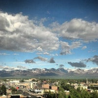 Photo taken at Sheraton Anchorage Hotel & Spa by Will on 6/5/2013