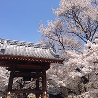 Photo taken at 実相寺 by elena on 4/14/2014