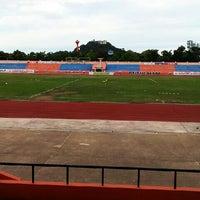 Photo taken at Sam Ao Stadium by donutza k. on 5/19/2013