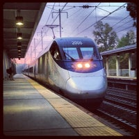 Photo taken at BWI Amtrak/MARC Rail Station (BWI) by Kathleen K. on 10/8/2012