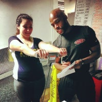 Photo taken at Synergy Fitness Clubs (Lower East Side) by George L. on 7/15/2014