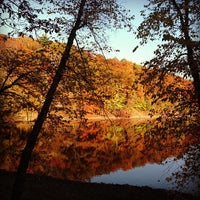 Photo taken at Jamaica Pond by Steve G. on 10/26/2012