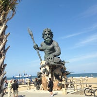 Photo Taken At The King Neptune Statue By P J On 4