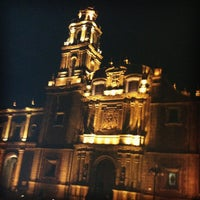 Photo taken at Plaza de Santo Domingo by Israel L. on 11/27/2012