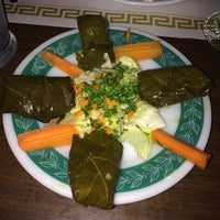 Photo taken at Mamoun's Mideast Cafe by Jeni J. on 7/27/2014