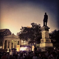 Photo taken at Lafayette Square by Sona P. on 10/13/2012