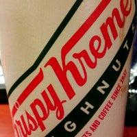 Photo taken at Krispy Kreme Doughnuts by ✈--isaak--✈ on 12/28/2012