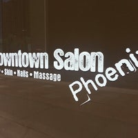 Photo taken at Downtown Salon Phoenix by ✈--isaak--✈ on 7/19/2013