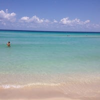 Photo taken at Spiaggia di Mondello by Angelo G. on 6/29/2013