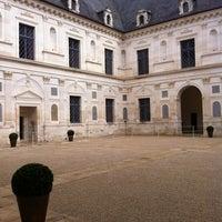 Photo taken at Chateau D'ancy Le Franc by Anne-Sophie L. on 4/12/2013