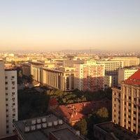 Photo taken at Capital Hotel Beijing by Roman K. on 9/25/2013