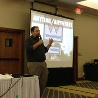 Photo taken at Tec/Sig Conference by Jon S. on 10/4/2012
