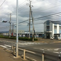 Photo taken at 三崎口駅前交番交差点 by B P. on 9/14/2013