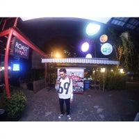 Photo taken at Kuningan Village Futsal & Food Park by Fakhri R. on 8/7/2015