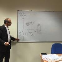 Photo taken at Murdoch University Dubai by Kelli D. on 7/5/2016