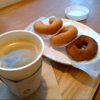Photo taken at hara donuts by Gayoung Y. on 12/23/2012