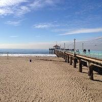 Photo taken at Manhattan Beach Pier by Shawn A. on 12/22/2012