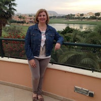 Photo taken at Hesperia Alicante Golf Spa by Mari Carmen C. on 4/19/2014