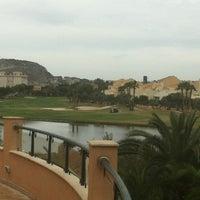 Photo taken at Hesperia Alicante Golf Spa by Mari Carmen C. on 3/31/2013