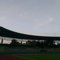 Photo taken at Stadium KLFA Cheras by Galvin T. on 1/16/2013