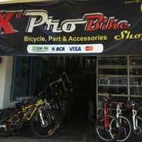 Photo taken at X'Pro Bike Shop by Elvy Y. on 2/17/2014