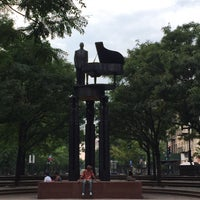 Photo taken at Duke Ellington Memorial by Robert Graham by Pamela A. on 8/30/2015