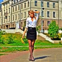 Photo taken at Парк «Чёрное озеро» by Katerina K. on 10/18/2012