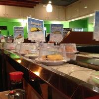 Photo taken at Kura Sushi by Eric R. on 4/15/2013