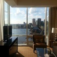 Photo taken at Four Seasons Hotel Baltimore by Fernando C. on 4/24/2013