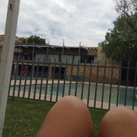 Photo taken at Piscina - Club Las Brisas de Chicureo by Marcela F. on 1/3/2016