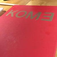Foto tomada en Kome por María V. el 10/21/2017