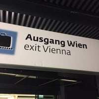 Photo taken at Vienna International Airport (VIE) by Joseph S. on 11/14/2013