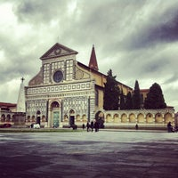 Photo taken at Piazza Santa Maria Novella by Anna D. on 2/1/2013