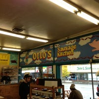 Photo taken at Otto's Sausage Kitchen by Rod B. on 10/31/2012