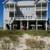 Photo taken at The Waymire Beach House by Maurice P. on 10/28/2012