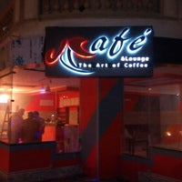 Photo taken at JCafè and Lounge by fathi N. on 3/5/2015