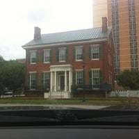 Photo taken at The Boyhood Home Of Woodrow Wilson by Laura V. on 9/21/2013