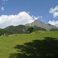 Photo taken at Ötztal by Marci S. on 7/14/2013