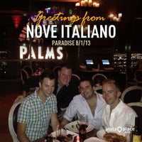 Photo taken at Nove Italiano by W. Skye P. on 8/2/2013