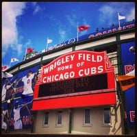 Photo taken at Wrigley Field by Sarah S. on 6/24/2013