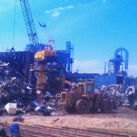 Photo taken at Newell Recycling of San Antonio by andrew g. on 5/7/2013