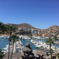Photo taken at Marina Fiesta Resort & Spa by Alejandro M. on 2/28/2016