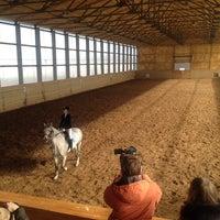 Photo taken at КСК «Антарес» by Anastasia K. on 3/29/2014