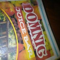 Photo taken at Domnic Juice Bar by Anastasia K. on 3/14/2013