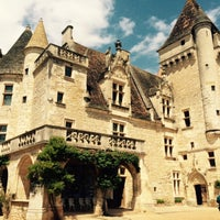 Photo taken at Château des Milandes by Ceren A. on 5/15/2015