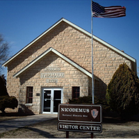 Photo taken at Nicodemus National Historic Site by BET on 2/21/2013