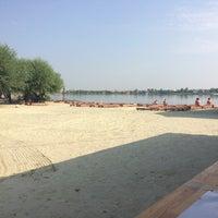 Photo taken at Робинзон Пляж by Rostyslav H. on 7/26/2016