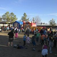 Photo taken at Westwood Elementary by Ragan P. on 4/4/2014